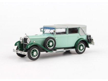 Škoda 860 1932 zelená Světlá 1 43 Abrex 143ABH 905QM 01