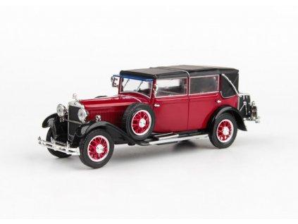 Škoda 860 1932 červená Tmavá 1 43 Abrex 143ABH 905BJ 01