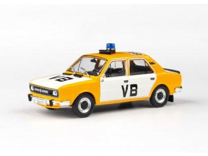 Škoda 120L 1982 úžovka Veřejná Bezpečnost 1 43 Abrex 143ABSX 724XA 01