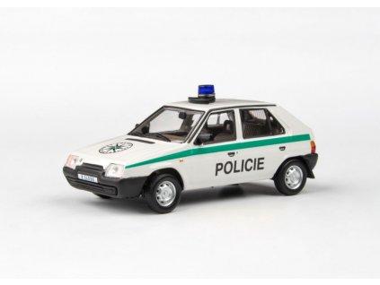Škoda Favorit 136L 1988 Policie ČR 1 43 Abrex 143ABSX 708XA7 01