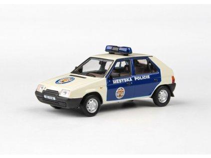 Škoda Favorit 136L 1988 Městská Policie Praha 1 43 Abrex 143ABSX 708XB 01