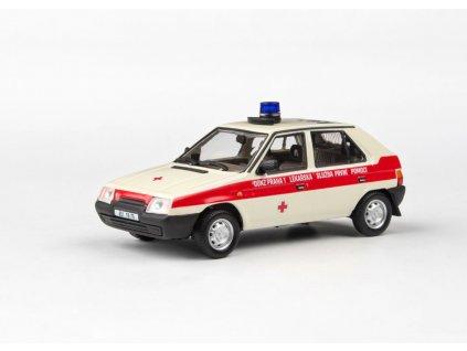 Škoda Favorit 136L 1988 OÚNZ Praha 1 43 Abrex 143ABSX 708XO2 01