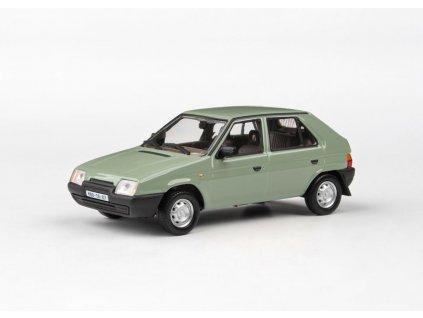 Škoda Favorit 136L 1988 zelená Topolová 1 43 Abrex 143ABSX 708HK 01