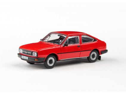 Škoda Garde 1982 červená Šípková1 43 Abrex 01