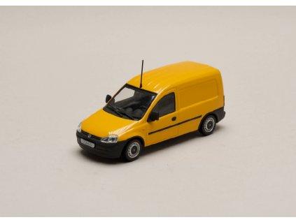Opel Combo Tour 2002 žlutá 1 43 Minichamps 9162986 01