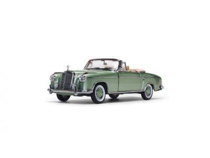 Mercedes Benz 220 SE open Convertible 1958 světle zelená 1 18 Sun Star 3557 01