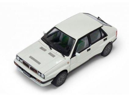Lancia Delta HF Integrale 8V 1989 bílá 1 18 Sun Star 3154 01