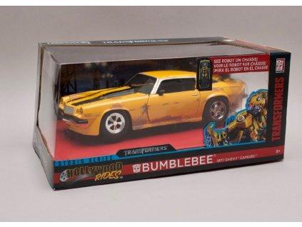 Transformers Chevrolet Camaro 1977 Bumblebee 1 24 Jada Toys 98383 02