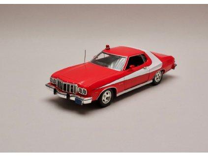 Ford Gran Torino 1976 %22Starsky & Hutch%22 červeno bílá 1 24 Greenlight 84042 01