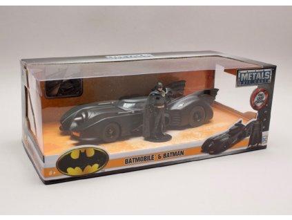 Batmobile %22Batman %22 1989 + figurka 1 24 Jada Toys 98260 01