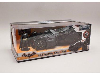 Batmobile %22Arkham Knight %22 2015 + figurka 1 24 Jada Toys 98038 01