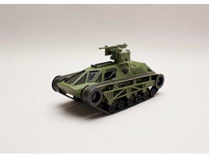 Ripsaw Tank zelená Rychle a zb. (Fast & Furious) 1 24 Jada Toys 98293 01