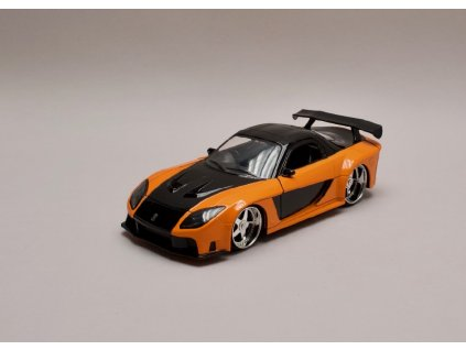 Mazda RX 7 1993 Han`s Rychle a zb. (Fast & Furious) 1 24 Jada Toys 30732 01