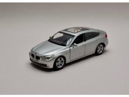 BMW Serie 5 GT 2010 stříbrná 1 24 Motor Max 73352 01