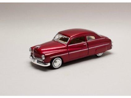 Mercury Coupe 1949 vínová 1 24 Motor Max 73225 01
