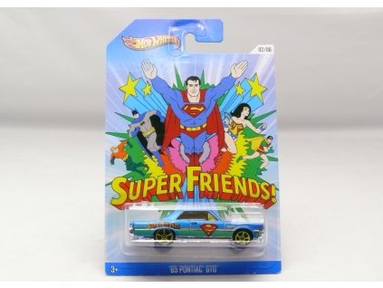 Pontiac GTO 1965 Superman Super Friends Hot Wheels