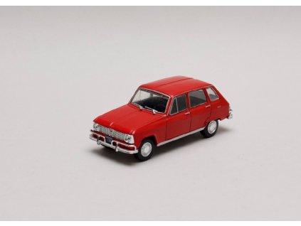 Renault 6 1969 červená 1 43 Champion 01