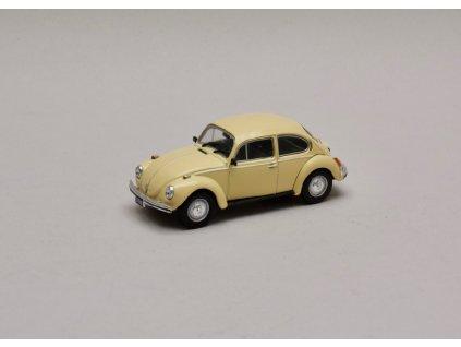 Volkswagen 1300L Beetle 1980 světle žlutá 1 43 Champion 01