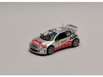 Peugeot 206 WRC #1 Rallye Monte Carlo 2002 1 43 Champion 01