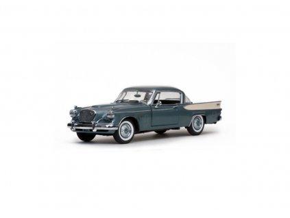 Studebaker Golden Hawk 1957 kouřovo šedá metalíza 1 18 Sun Star 6151 01