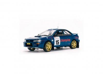 Subaru Impreza 555 #15 Rallye de France 1996 1 18 Sun Star 5511 01