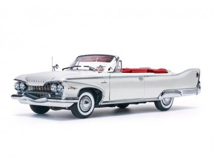 Plymouth Fury 1960 open Convertible bílá ústřice 1 18 Sun Star Platinum 5403 01