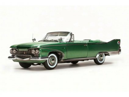 Plymouth Fury 1960 open Convertible zelená chrom 1 18 Sun Star Platinum 5404 01