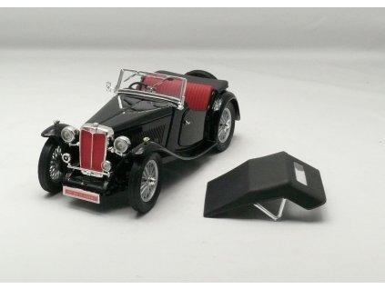 MG TC Midget 1947 černá 1:18 Lucky Diecast