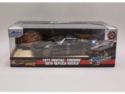 Pontiac Firebird Trans Am 1977 %22Smokey and the Bandit I%22 1 24 Jada Toys 30998 01