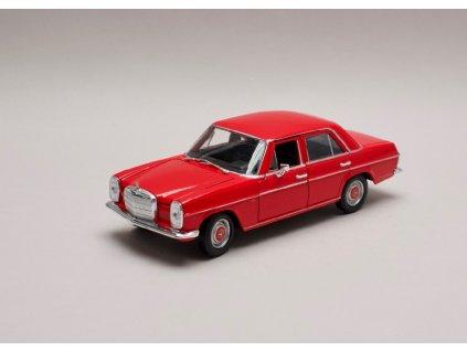 Mercedes Benz 220 1968 (W115) červená 1 24 Welly 24091 01