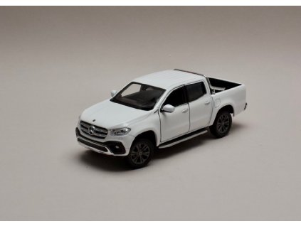 Mercedes Benz X Class bílá 1 24 Welly 24100 01