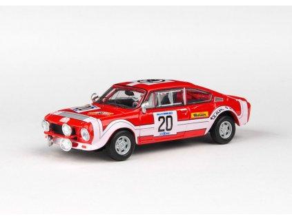 Škoda 200RS 1974 #20 Rallye Škoda 1974 1 43 Abrex 143XABS 502TC 01