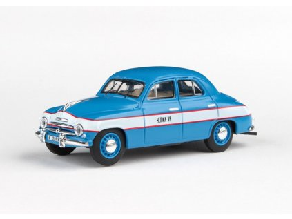Škoda 1201 sedan 1956 Hlídka VB 1 43 Abrex 143ABSX 711XA 01