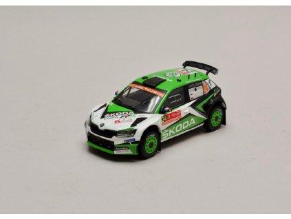 Škoda Fabia R5 EVO #24 Rally Portugal 2019 1 43 IXO RAM717 01