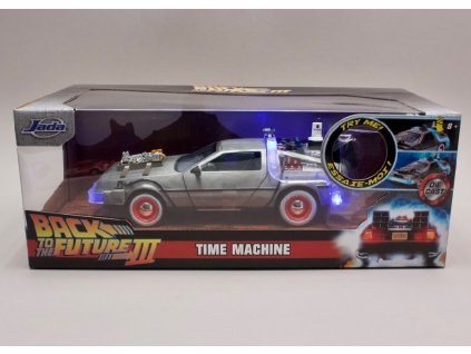 De Lorean Back To The Future III osvit 1 24 Jada Toys 32166 02