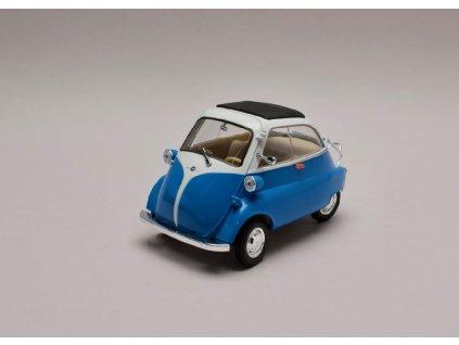 BMW Isetta 250 modro bílá 1 18 Welly 24096 01