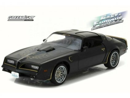 Pontiac Firebird Trans Am 1978 Tego`s Rychle a zběsile (fast and furious) 1 18 Greenlight 19026 02