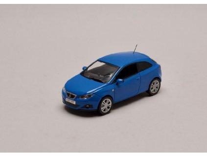 Seat Ibiza SC (Sport Coupe) modrá Gallia 1 43 Seat Auto 01