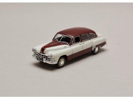 GAZ 12 1950 (Zim 12) krémovo vínová 1 43 Car Selection 01