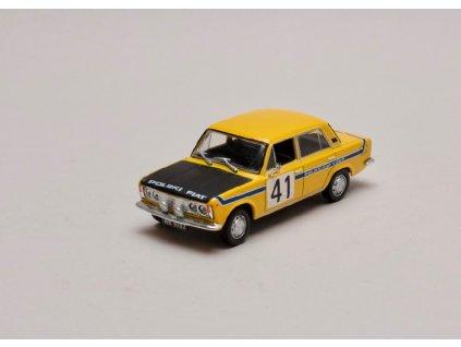 Fiat 125P #41 Rally žluto černá 1 43 Car Selection 01