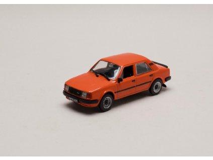 Škoda 120 LS 1983 červeno oranžová 1 43 Car Selection 01