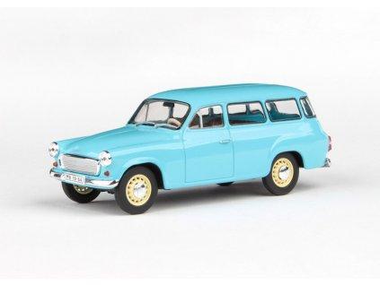 Škoda 1202 1964 světle modrá 1 43 Abrex 143ABS 728MJ 01