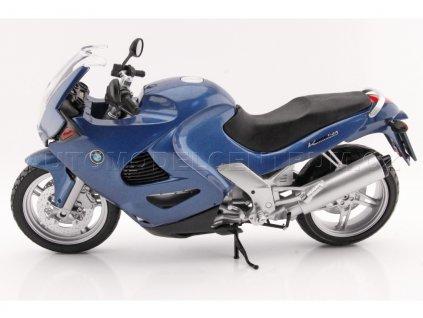 Motocykl BMW K1200RS modrá 1 6 Motor Max Super Bikes MX 76251 01