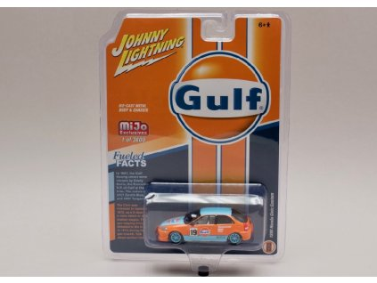Honda Civic Custom 1998 #19 Gulf 1 64 Johnny Lichtning JLCP 7192 01
