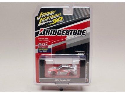 Honda CRX 1990 #9 Bridgestone 1 64 Johnny Lichtning JLCP 7199 01