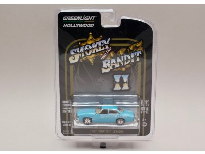 Pontiac LeMans 1977 Smokey and the bandit II 1 64 Greenlight 01