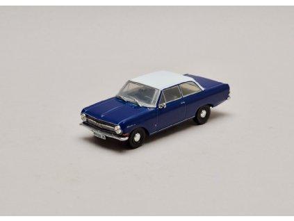 Opel Rekord A 1963 1965 modro bílá 1 43 Champion 01