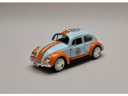 Volkswagen Beetle 1966 Gulf serie 1 24 Motor Max 79655 01