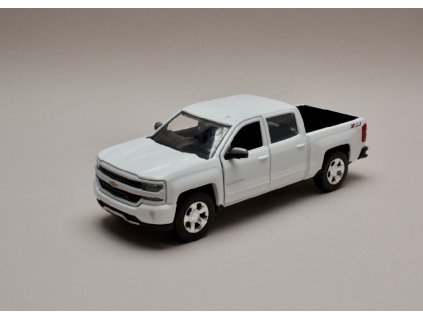 Chevrolet Silverado 1500 LT Z71 Crew Cab bílá 1 24 Motor Max 79348 01