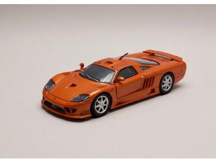 Saleen S7 oranžovo hnědá metalíza 1 24 Motor Max 73279 01